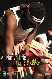Native Title Newsletter - Issue 2 2017 cover